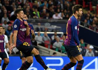 Barça down to Piqué and Lenglet for Sevilla-Inter-Madrid