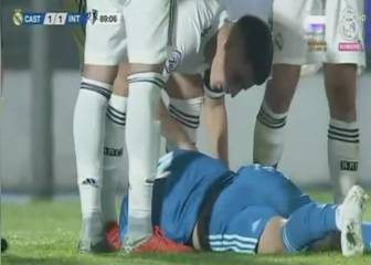 Valdebebas silenced as Luca Zidane suffers dangerous fall
