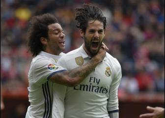 Isco and Marcelo to the rescue