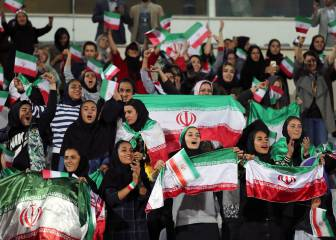 Women at Iranian football: the image waited for since 1981