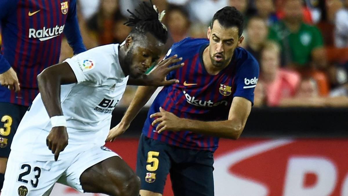 Tabla de esfuerzos del Barça: Busquets, el que más juega (1.101')