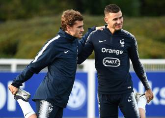 Lucas talks Simeone, Deschamps, picking France and declares