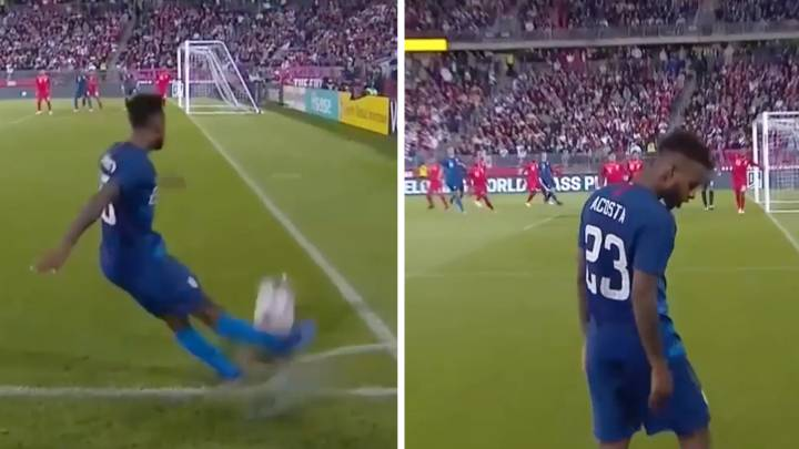 Acosta: USA man\'s worst-corner-ever contender against Peru