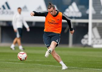 Gareth Bale sees the light as he returns to training