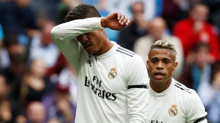 El 1x1 del Real Madrid: Varane se disparó al pie, Marcelo resurgió