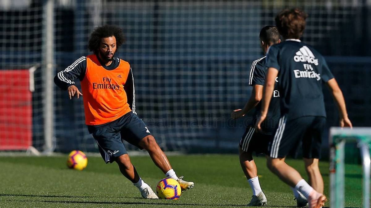 Real Madrid: Marcelo trains, set to make Clásico in Barcelona