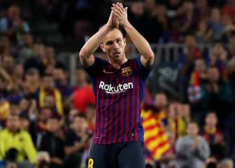 Arthur feeling Camp Nou love