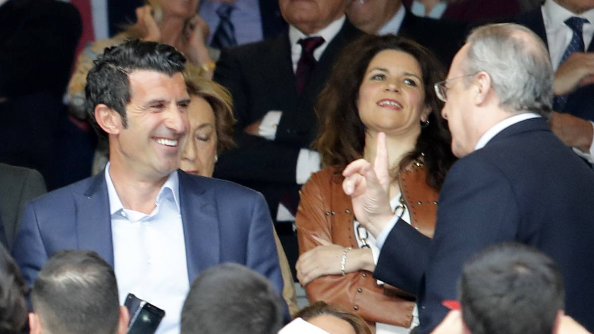 "Figo's advice to Florentino: ""I think Hazard wants to come to Real Madrid..."""
