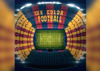Stunning 90,000 card mosaic to be unveiled before El Clásico