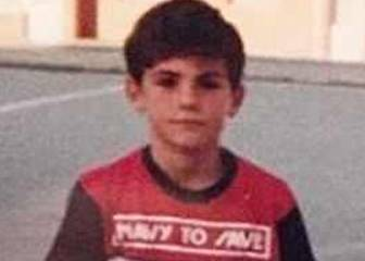 Can you identify this kid who became a World Cup winner?