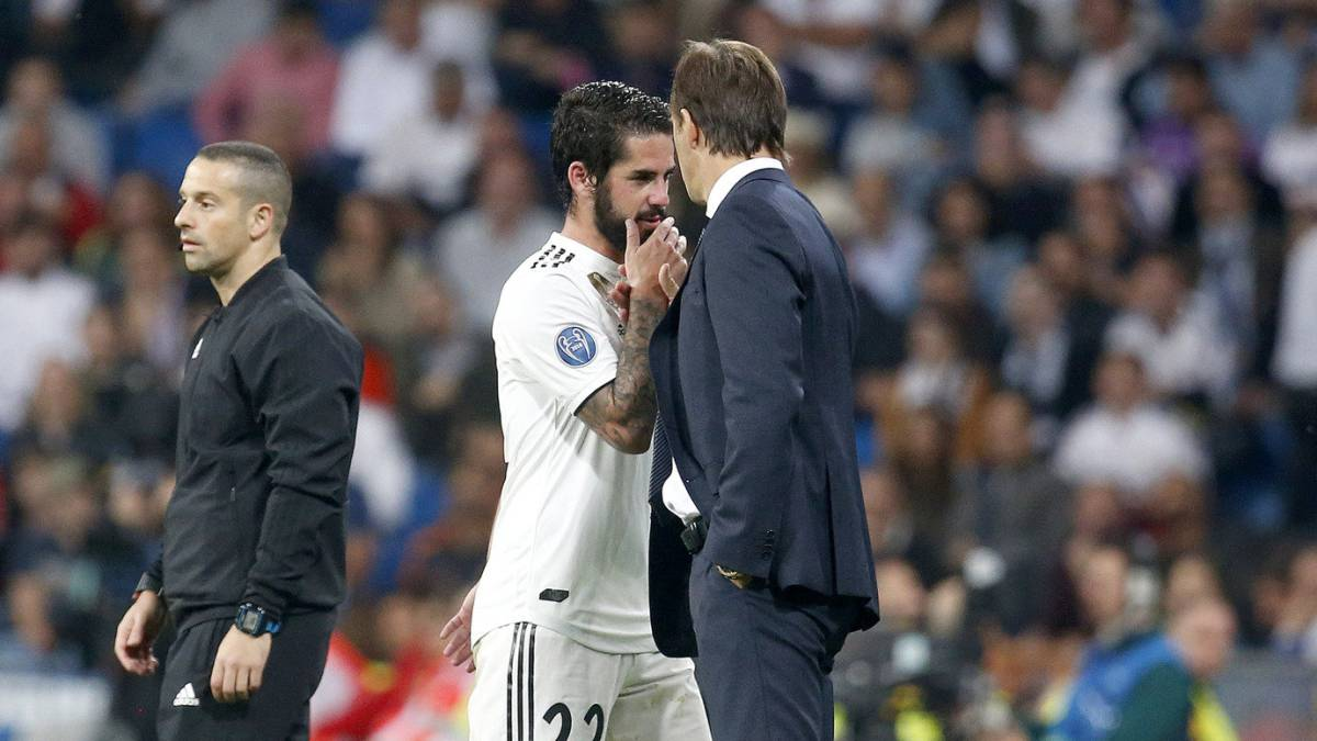 Barça-Real Madrid: Lopetegui to place faith in Isco and 4-4-2
