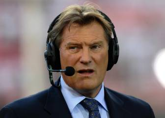 Glenn Hoddle, trasladado al hospital tras desplomarse en TV