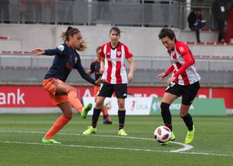 Athletic y Valencia empataron y la Real venció al Madrid CFF