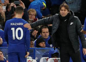 Conte at Madrid would complicate potential Hazard move
