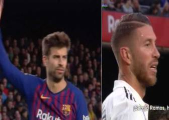 Piqué requests Camp Nou fans to stop insulting Sergio Ramos