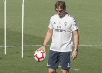 Lopetegui oversees last training session as Real Madrid coach