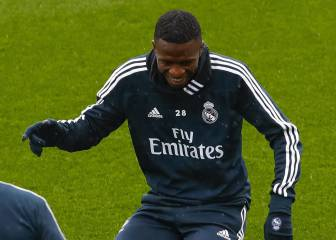 Solari's nod to Vinicius