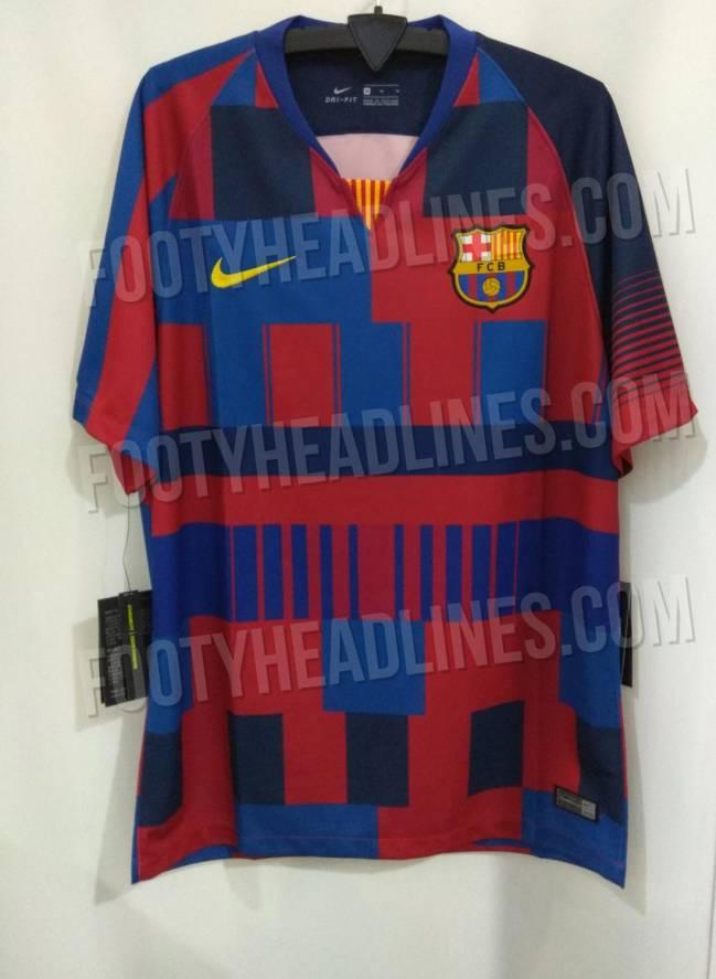 247c7c1159c65 La camiseta  edición especial  que el Barcelona negó ya se puede ver ...