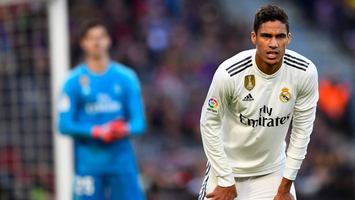 More bad news for Madrid: Varane facing a month out