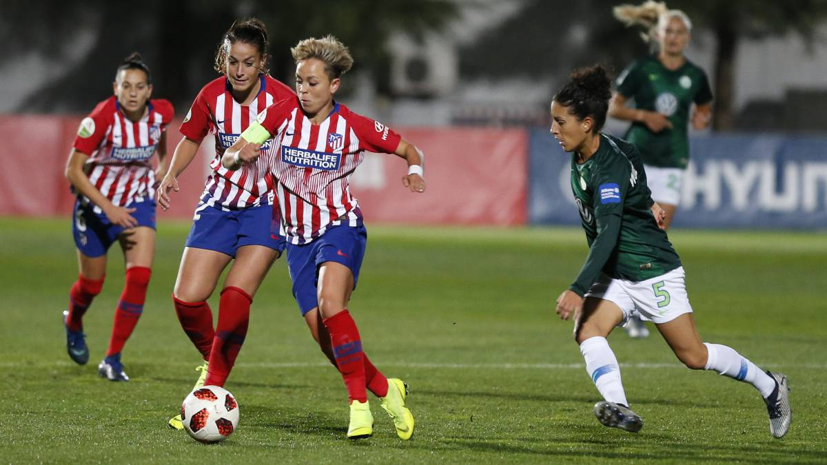 Atlético de Madrid-Wolfsburgo en directo: Champions femenina
