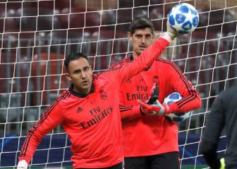 Solari arrival reopens Navas-Courtois debate at Madrid