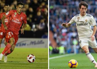 Odriozola and Reguilón step up in place of Carvajal and Marcelo