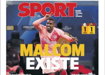 Malcom: star of the night, headline of the day
