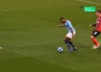Guardiola y el piscinazo de Sterling: