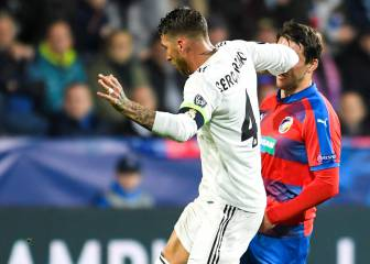 Sergio Ramos sends message to Plzen's Havel after elbow