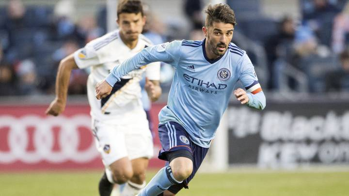 David Villa jugador de los New York City