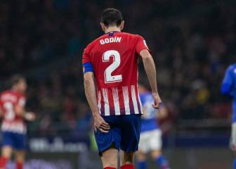Godín almost certain to miss Barcelona's visit to the Wanda