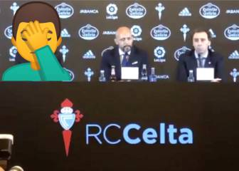 New Celta boss left red-faced after mixing club up with local rivals