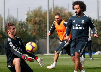 Marcelo, Carvajal and Mariano eye return after international break