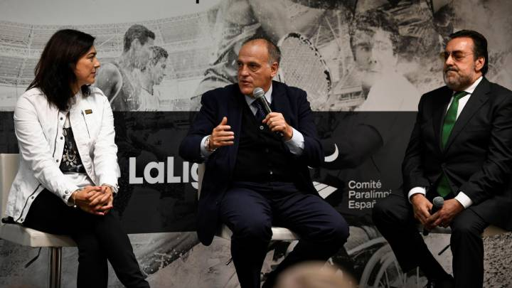 Tebas sale en defensa de Rienda: \