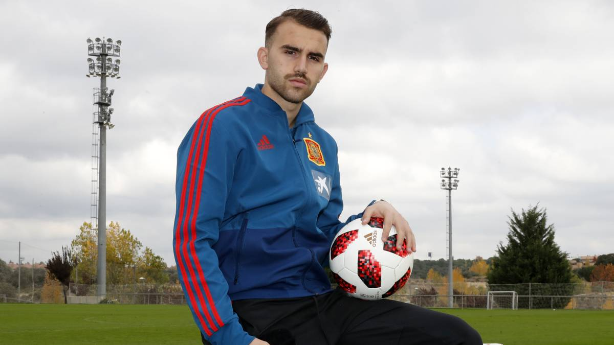 "Borja Mayoral: ""Solari is very similar to Zidane"""