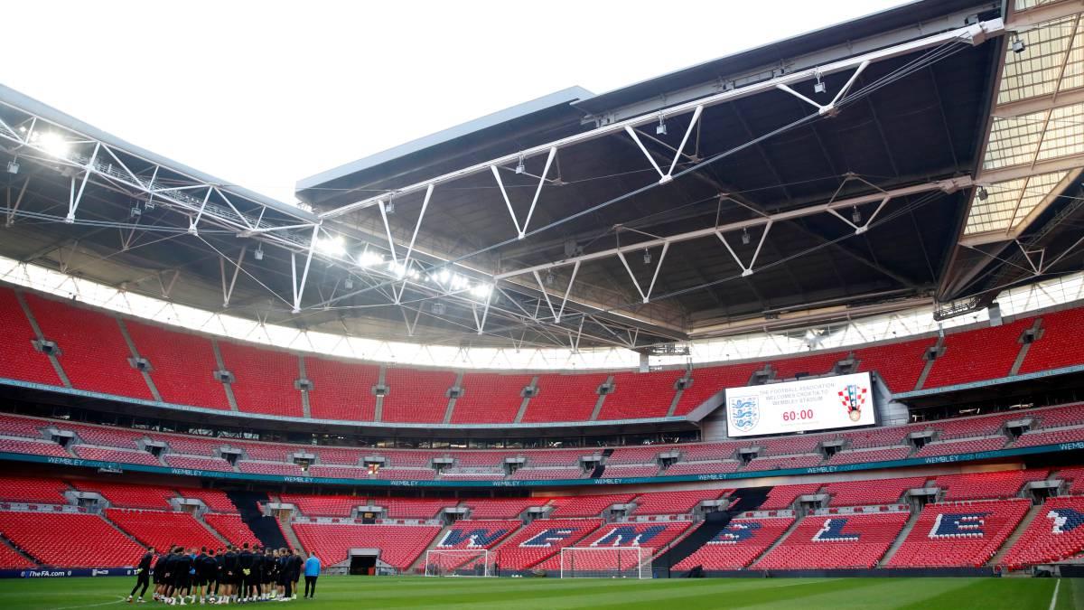El Inglaterra-Croacia se juega a tres bandas en Wembley - AS.com