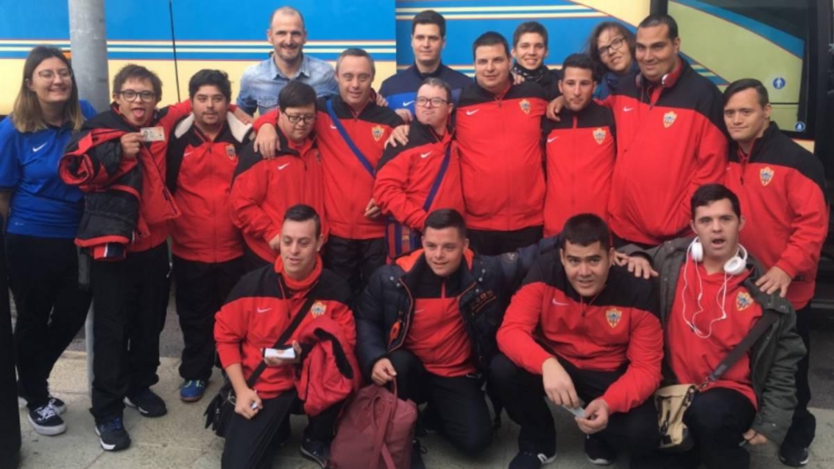 El Almería debuta por primera vez en su historia en la Liga Genuine - AS.com