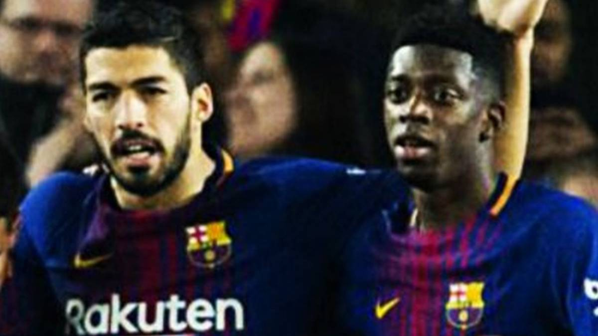 "Luis Suárez: ""I think Dembélé has to focus more on his football"""