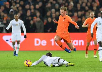 De Jong 'likes' Real Madrid