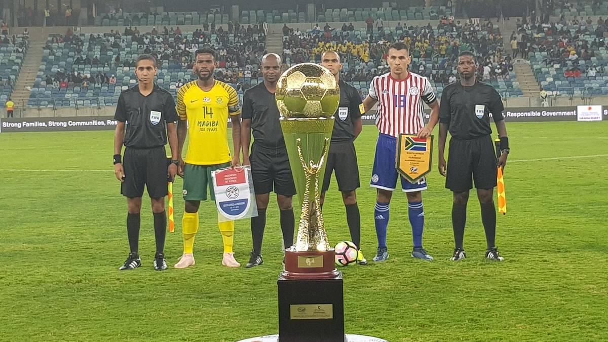 Sudáfrica - Paraguay en directo: amistoso internacional en vivo - AS.com