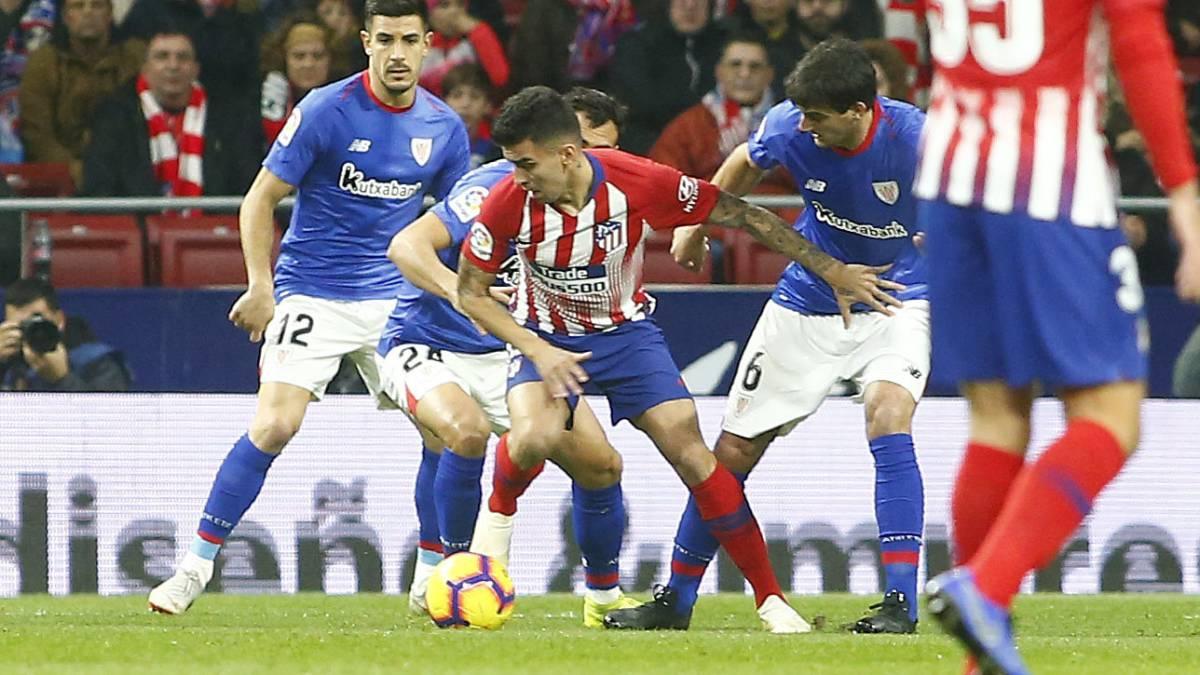 El Atlético, el mejor regateador de las grandes ligas europeas - AS.com