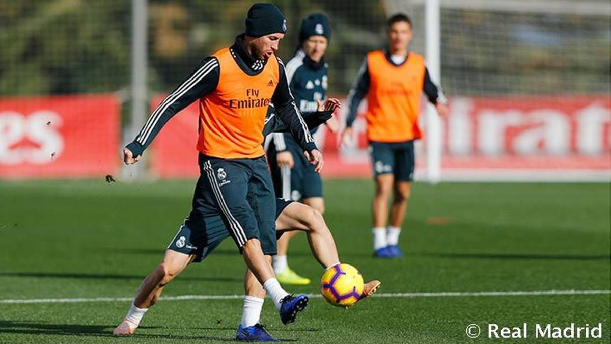 Ramos back in full training following injury