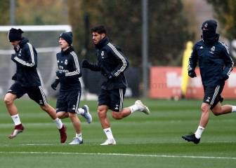 Ramos and Keylor train as Real Madrid prepare for Eibar