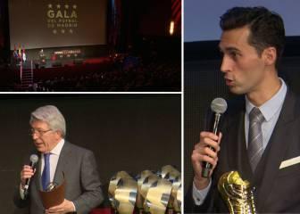 Lo mejor de la Gala del Fútbol Madrileño  de Arbeloa a Cerezo 4119b17388dfb
