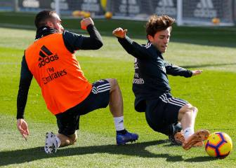 Odriozola or Carvajal is the question for Solari against Eibar