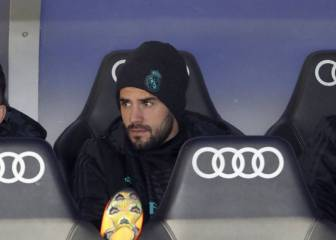 Solari leaves Isco on the bench for the fifth game in a row