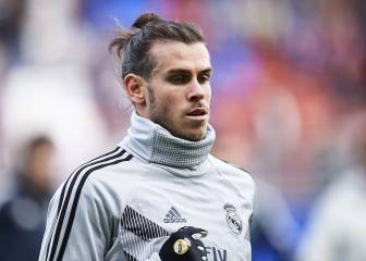 Bale is walking on a tightrope