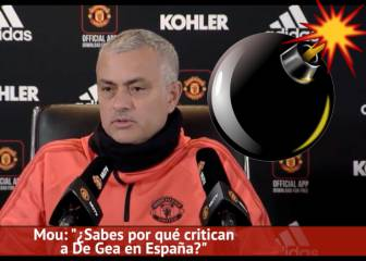 Mou insinuates that Casillas is behind De Gea smear campaign