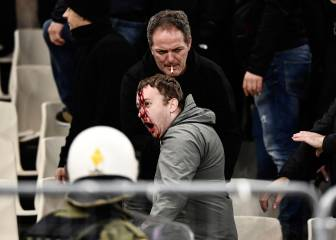 Shocking AEK Athens-Ajax fan violence