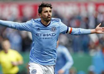 David Villa set for Spain return after leaving New York City?